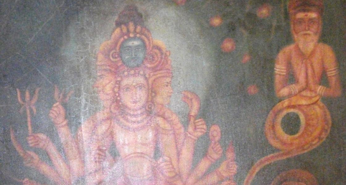 """""""Kala Hastiswari""""       Oil Painting on canvas."""