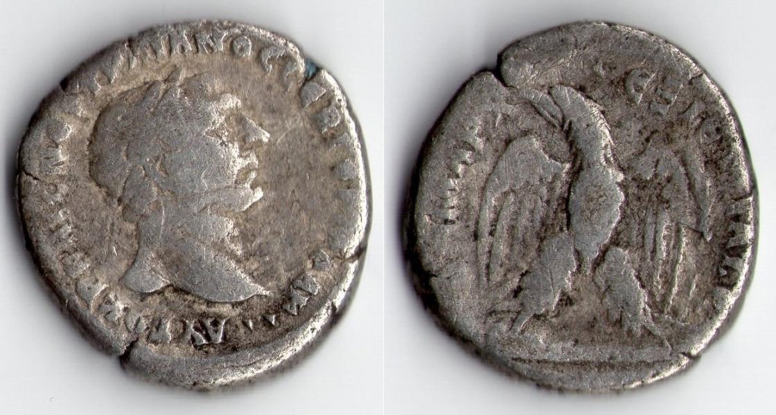 ROMAN EMPIRE TRAJAN SILVER TETRADRACHM 98-117 AD.